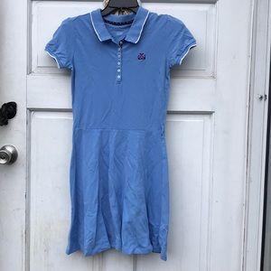 Nautica Blue Polo SS T-Shirt Dress Girls XL 12-14
